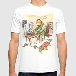 Hero and his Superdog T-shirt