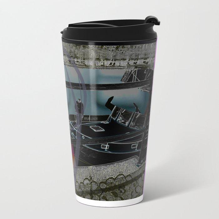 Remote Yachting Metal Travel Mug