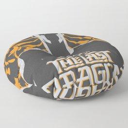 The Last Dragon Floor Pillow