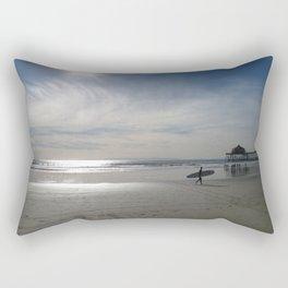 Redondo Beach Surfer Rectangular Pillow