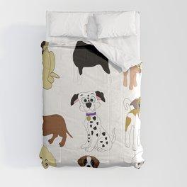 Pet dogs design Comforters