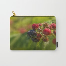 Rasberry Harvest Carry-All Pouch