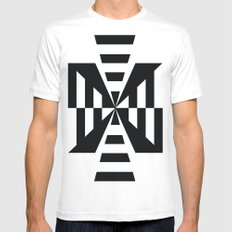 The Way MEDIUM White Mens Fitted Tee