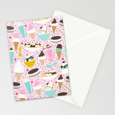 Ice Cream Party Stationery Cards