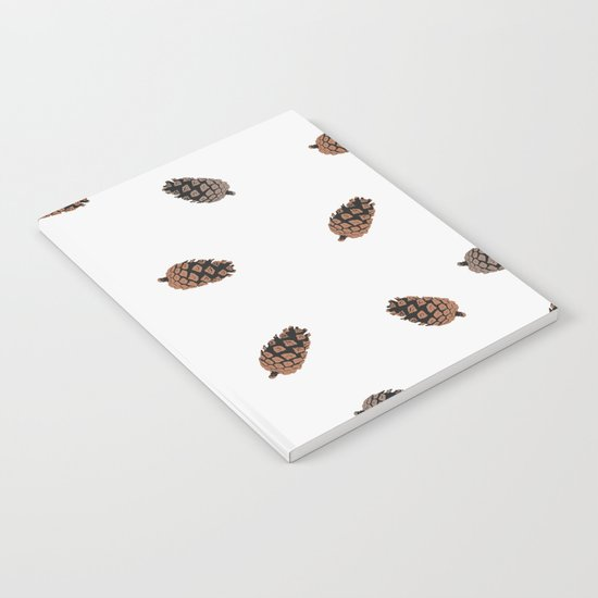 Cone Pattern Notebook