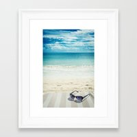 holiday Framed Art Prints featuring Holiday by Joyce Vincent
