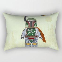 Star.Wars Boba Fett styled Mini Figure Rectangular Pillow