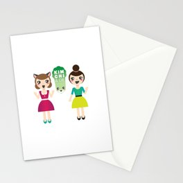 Alexandra et Kim! Stationery Cards