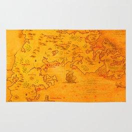 Bretonnia map Rug