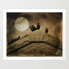 Meeting Of The Minds Art Print