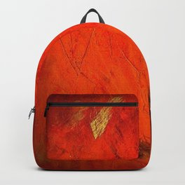 Italian Style Orange Stucco - Adobe Shadows Backpack