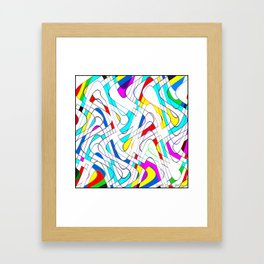 Wavy Works Framed Art Print