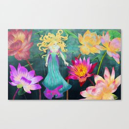 Water Nymph Canvas Print