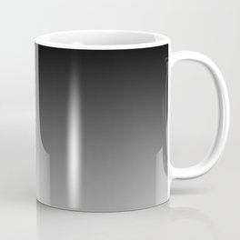 Blurred Black and White Coffee Mug