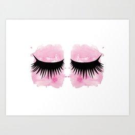 Eyes 3 Art Print