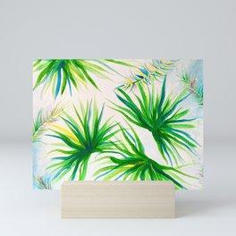 Breezy Palms Mini Art Print