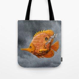 Steampunk Butterflyfish II Tote Bag