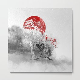 The warrior and the wind Metal Print