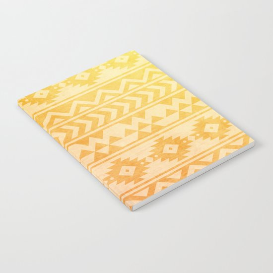 Aztec Pattern 08 Notebook