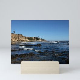 The Cliffs of Pismo Beach Mini Art Print