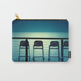 Blue Bar Stools Carry-All Pouch
