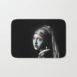 Girl with the pearl Bath Mat