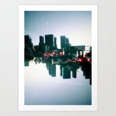 Landscapes (Los Angeles #2) Art Print
