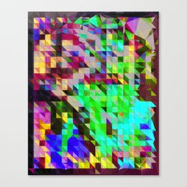 Bling Cosby Canvas Print