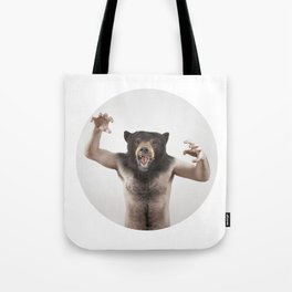 Therianthrope - Angry Bear Tote Bag