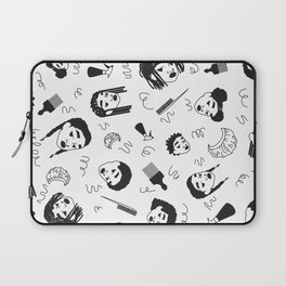 Curl Pattern Laptop Sleeve