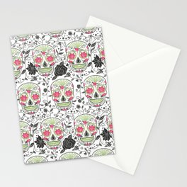Sugar Skulls Stationery Cards
