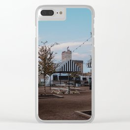 Magnolia-Alico View Clear iPhone Case