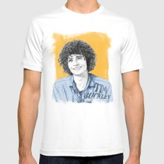 Tim Buckley Mens Fitted Tee White MEDIUM