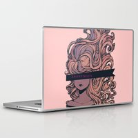anonymous Laptop & iPad Skins featuring Anonymous by Ludovic Jacqz