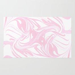 Original Marble Texture - Flamingo Blush Rug