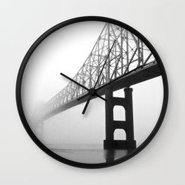 Savanna-Sabula bridge - 2 Wall Clock