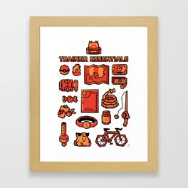 Trainer Essentials Framed Art Print