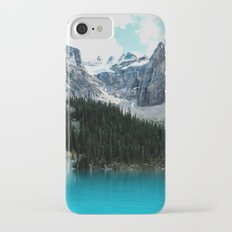 Moraine lake Wander (landscape) iPhone 7 Slim Case