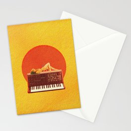 Quiverish Synthesthesia X 4 - Erotic Collage Art Stationery Cards