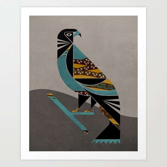 Inca Message Art Print