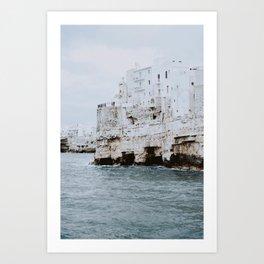 Polignano a Mare, Italy Art Print