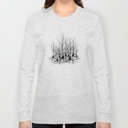 Pyramidal Neuron Forest Long Sleeve T-shirt