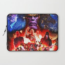 fight her severe heroes Laptop Sleeve
