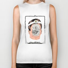 Journey to the center of the earth Biker Tank