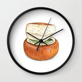 Pecorino Cheese Wall Clock