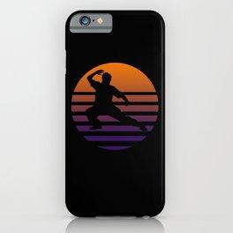 Tai Chi Silhouette iPhone Case
