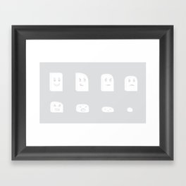 Mr. Eraser Framed Art Print