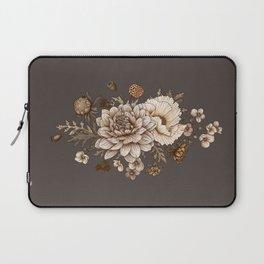 Vintage Flower Bouquet Illustration Laptop Sleeve