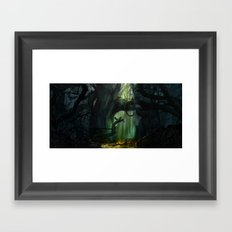 Dark Forest (VACANCY zine) Framed Art Print