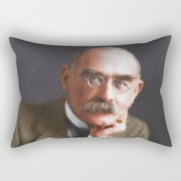 Rudyard Kipling Rectangular Pillow
